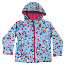 Childrens Girls My Little Pony Summer Rain Coat Hooded Zip up Kids Jacket 56725 Age 4-5 Years Old Size