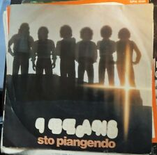 I Beans – Sto Piangendo/Vuol Dire Che Ti Amo  45 giri 1976