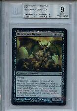MTG Hellcarver Demon BGS 9.0 Mint Rise o/t Eldrazi Foil Magic card Amricons