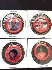 St. Louis Cardinals pin set(4)-Classic Collectables-1984 Fun Foods-STEAL DEAL