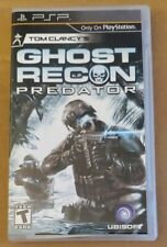 Tom Clancy's Ghost Recon: Predator (Sony PSP) game cib complete FAST SHIPPING
