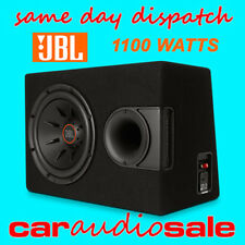 "JBL S2-1224SS 12"" CAR VAN SUB SERIES II VENTED SUBWOOFER ENCLOSURE 1100W"