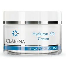 Clarena Hyaluron 3D Ultra Moisturising Anti Wrinkle Cream Hyaluronic Acid 50ml