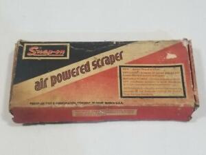 Vintage Snap On Tool Air Powered Scraper PGS1 w Box  PLEASE READ