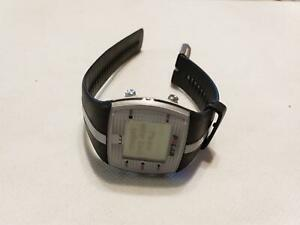 Polar FT7 Heart Rate Monitor Watch Black and Silver Band NEW BATTERY