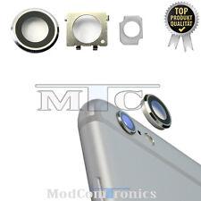iPhone 6S Plus Kameralinse Back Kamera Linse Lens Halterung Rahmen silber NEU205