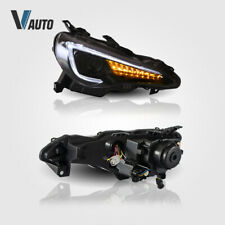 Pair Fit For Toyota GT-86 & Subaru BRZ & Scion Frs 2012-2019 LED Headlight Lamps