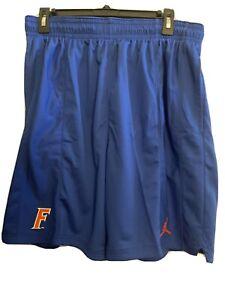 Men's Jordan XL  Royal Florida Gators Performance Football Gym Shorts NWT