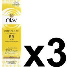 3 Crema Hidratante Olay BB CREMA Medio SPF15 Max Factor Essentials CompleteCare 50 Ml