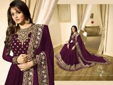 indian anarkali salwar kameez pakistani wedding party wear bollywood drees 01
