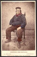 Costumes des Pays-Bas. La Zelande. Arnemuiden. A. Jager. CDV Vers 1880