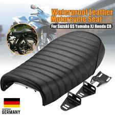 Schwarz Sozius Sitzbank Geeignet Für 2007-2013 Harley Sportster 883XL//C//N 1200N