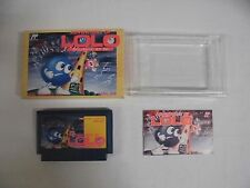 ADVENTURES OF LOLO -- Boxed. Famicom, NES. Japan game. Work fully!! 10673