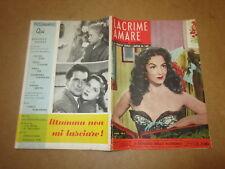 CINEROMANZO I ROMANZI DELLO SCHERMO N°7-1955 LACRIME AMARE D.BURGES M.FELIX