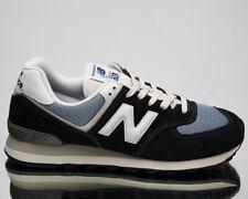 New Balance 574 Men'S темно-синий, светло-голубой, белые, низкие, повседневные повседневные кроссовки, обувь