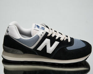 New Balance 574 Men's Navy Light Blue White Low Casual Lifestyle Sneakers Shoes
