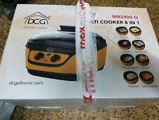 Multi cooker dcg pentola elettrica nuova mai usata con scontrino affare