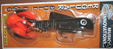 "9"" Regular Double Bull Dawg Musky Innovations Black Orange Pike Plastic Body"
