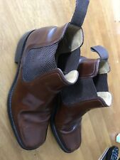 LOAKE BROWN CHELSEA BOOTS SIZE 8