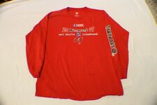 NFL ~ Long Sleeve ~ Tampa Bay Buccaneers ~ 2007 Champions  ~ XL