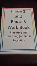 PHASE 2 & PHASE 3 BOOK- LETTERS / SOUNDS/ PHONICS/ WRITING / READING/ SPELLING