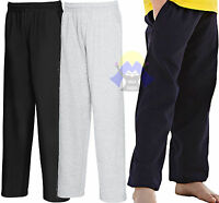 Pantalone LEGGERO Felpato Bambino/a FRUIT OF THE LOOM Tuta Pantaloni Jog KID Boy
