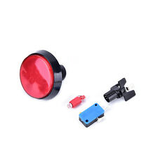60mm LED Light Big Round Arcade Video Game Player Push Button Switch LampD`VV