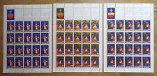 Liechtenstein 20 x 788 - 790 postfrisch Kleinbogen KB Satz Weihnachten 1981 MNH