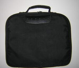 Vintage COMPAQ 3/20 3/25 3/25C 4/25 4/25C Logo Soft Shell Carry Case Black Nylon
