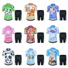 WEIMOSTAR Cycling Jersey Children's Bicycle Short Clothing Sportswear Bike Sets