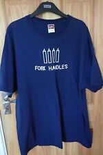 Two Ronnies Sketch T-shirt XL Fork Handles