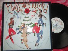 A Christmas Record Various  Artists - ZE Records ILPS 7022 UK Vinyl LP Album