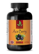 ACAI Berry 1200mg - Promotes Heart Health - Super Anti-Oxidant (1 Bottle)