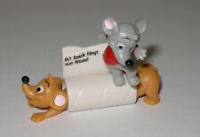 """Variante """"längste Maus der Welt"""" Aufdruck Mit Speck fängt man Mäuse"""