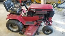 Wheel Horse 416H Riding Tractor with attachment and snow blower