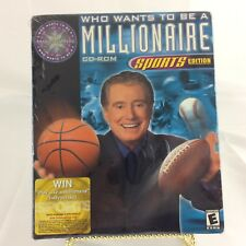 Who Wants To Be A Millionaire Great Family Sports Edition CD-ROM Sealed Game!