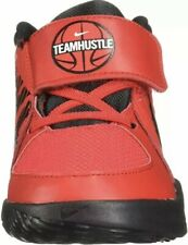 Nike Toddler Size 8C Team Hustle Basketball Shoes Red Black AQ4226 600