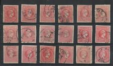 C401 GREECE 1880-900 Small Hermes 20lepta with good margins and colour varieties