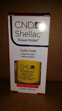 Creative CND Nail Shellac ~ Bicycle Yellow  ~ Soak Off Gel Polish .25 oz