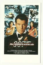 James Bond postcard - 'Tomorrow Never Dies' - German poster (1997)