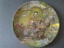 WEDGWOOD GYPSY CARAVAN PLATE WIND IN THE WILLOWS ERIC KINCAID