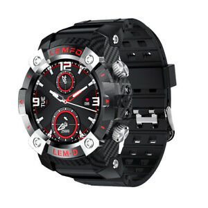 LEMFO LEMD Smartwatch TWS-Ohrhörer-Set 1,3-Zoll-TFT Wasserdichte Sportuhr J6J9