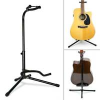 Telescopic Guitar Stand Acoustic/Electric/Bass Adjustable Black Tripod Stand UK