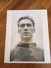 1956 Ray Wood Manchester United Reproduction B/W Photos : Head and shoulders