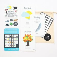 Days, Months, & Seasons Flash Cards - Two Little Ducklings
