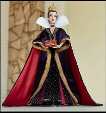 """NIB Disney Store 2017 Snow White EVIL QUEEN Limited Edition 17"""" LE Doll Preorder"""