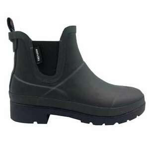 Tretorn Ladies' Chelsea Rainboots - BLACK (Select Size: 6-10) * FAST SHIPPING *
