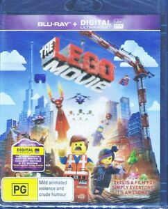 THE LEGO MOVIE Animated Feature BLU-RAY - NEW & SEALED Free Post