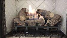 Vent-Free Logs, Monessen Mountain Cedar, Manual Control, 24 inch, Natural Gas