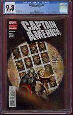 CAPTAIN AMERICA #6 CGC 9.8  1:50 VARIANT (2012)   X-MEN #141 SWIPE   COMIC KINGS